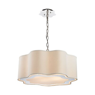 Langley 6-Light Drum Pendant Bulb Type: LED