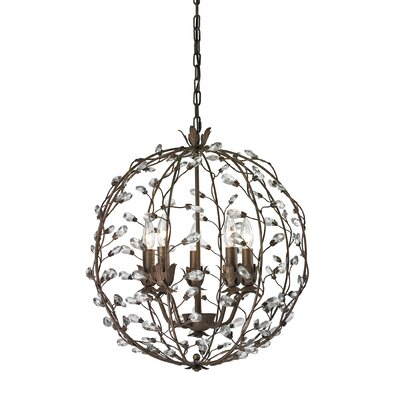Creed 5-Light Globe Pendant