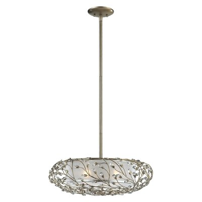 Carol 3-Light Kitchen Island Pendant