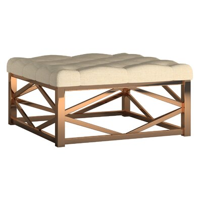 Gilham Ottoman Upholstery: Beige