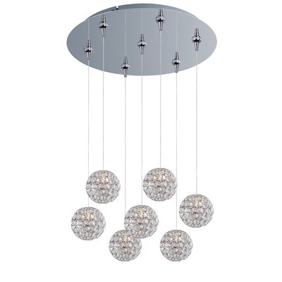 Devereaux 7-Light Pendant and Canopy
