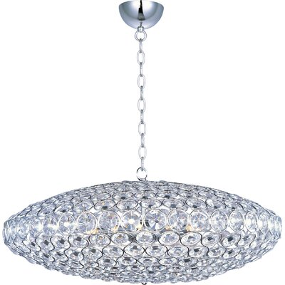 Devereaux 12-Light Crystal Pendant