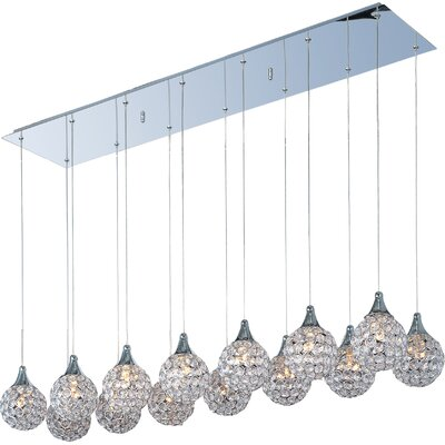 Devereaux 14-Light Kitchen Island Pendant