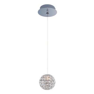 Devereaux 1-Light Pendant and Canopy