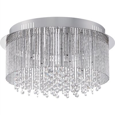 Diane 9-Light Flush Mount