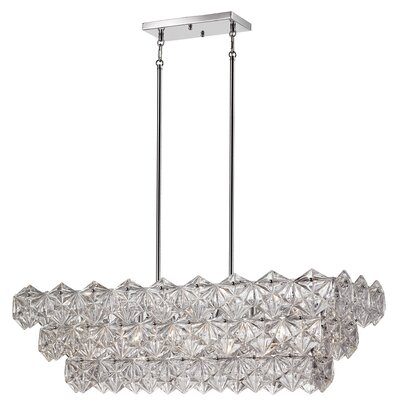 Burton 5-Light Crystal Pendant
