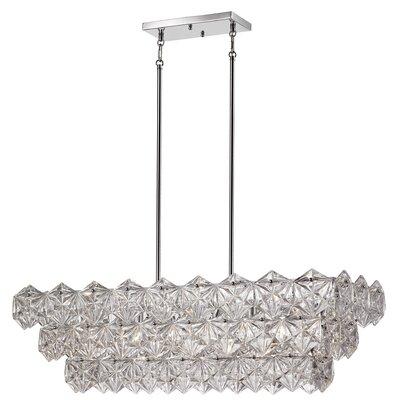 Burton 5-Light Crystal Pendant
