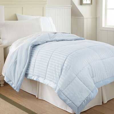 Goodwyn Down Alternative Blanket Size: King, Color: Blue