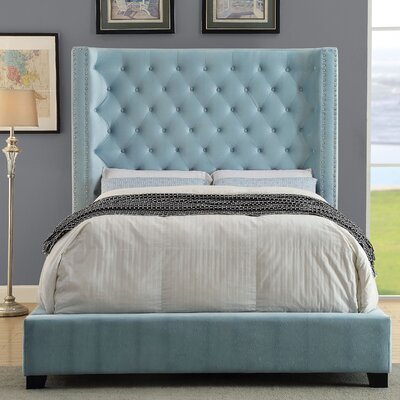 Martinson Upholstered Panel Bed Size: Queen