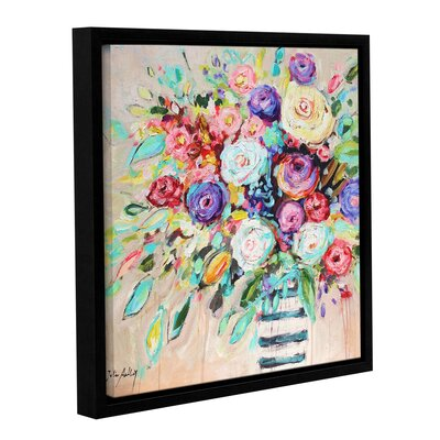 Vibrant Bouquet Framed Painting Print on Wrapped Canvas HOHN9890 33506865
