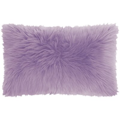 Yaritza Lumbar Pillow Color: Lavender