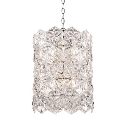 Burton 6-Light Crystal Pendant