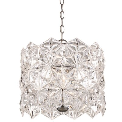 Burton 4-Light Crystal Pendant