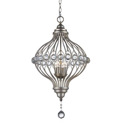 Geisler 4-Light Foyer Pendant Finish: Rubbed Oil Bronze