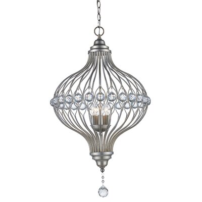 Geisler 5-Light Foyer Pendant Finish: Rubbed Oil Bronze