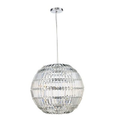 Gottfried 3-Light Globe Pendant Size: 110 H x 14 W x 14 D