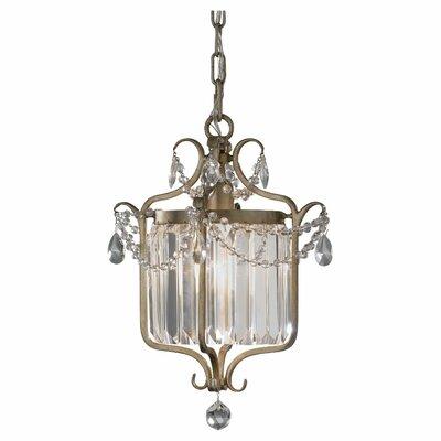 Arliss 1 Light Crystal Chandelier