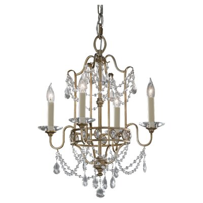 Arliss 4-Light Crystal Chandelier