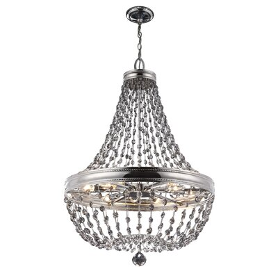 Elkins 12-Light Empire Chandelier