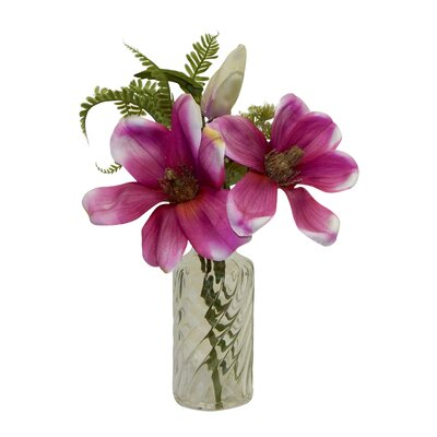 Anemone Floral Arrangements in Decorative Vase