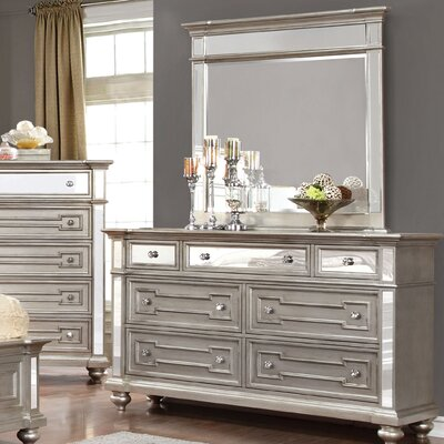 Ronna 7 Drawer Dresser with Mirror