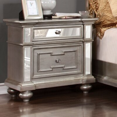 Ronna 2 Drawer Nightstand