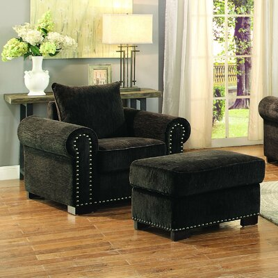 Harker Arm Chair and Ottoman