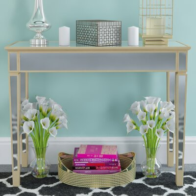 Borkholder Mirrored Console Table