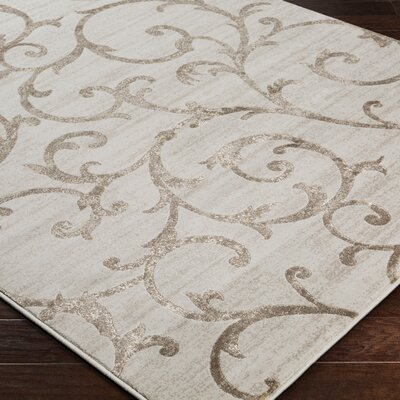 Alguno Beige Area Rug Rug Size: Rectangle 53 x 76