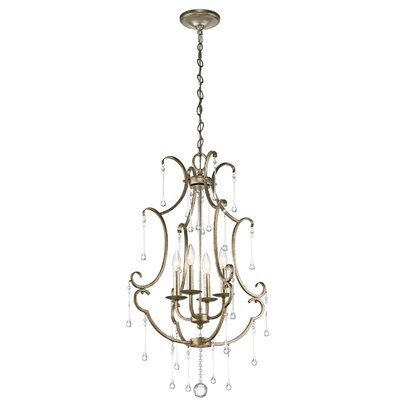 Romain 4-Light Candle-Style Chandelier