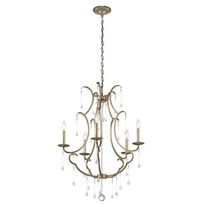 Greene 5-Light Crystal Chandelier