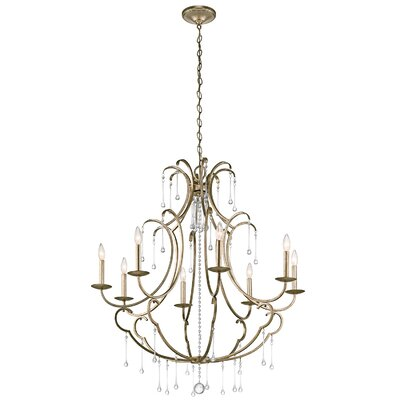 Rochester 8-Light Crystal Chandelier
