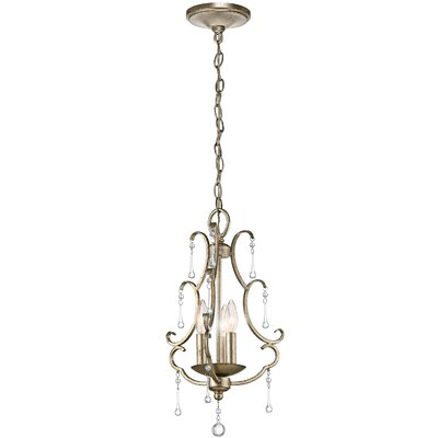 Rixensart 3-Light Foyer Pendant