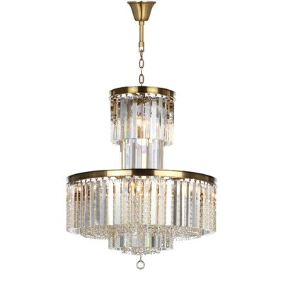 Marcia Metal Crystal Chandelier
