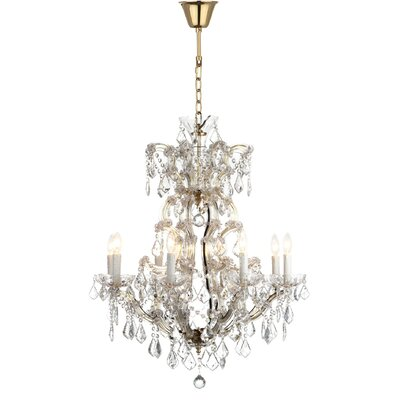 Filton 8-Light Crystal Chandelier