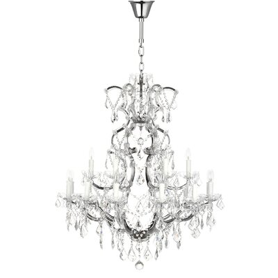 Filton 10-Light Crystal Chandelier