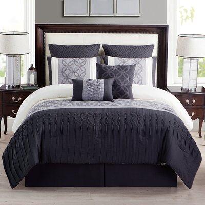 Waltham Cross Comforter Set Size: Full / Queen
