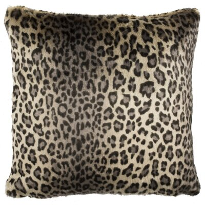 Lichfield Faux Leopard Throw Pillow