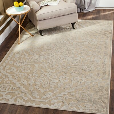 Maspeth Ivory Area Rug Rug Size: Rectangle 27 x 4