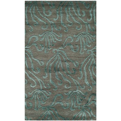 Seaflora Hand-Tufted Blue/Gray Area Rug