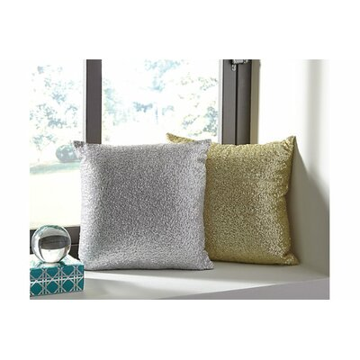 Schell Throw Pillow Color: Gold