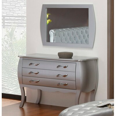 Athis 3 Drawer Dresser