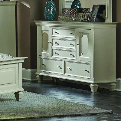 Jean 5 Drawer Standard Dresser