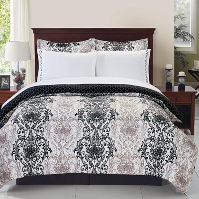 Guadeloupe Prined Classics Comforter Set Size: Queen