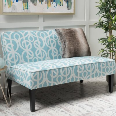 Willa Arlo Interiors WRLO7146 Benson Fabric Loveseat