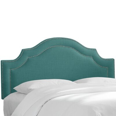 Fleischmann Traditional Arch Upholstered Panel Headboard