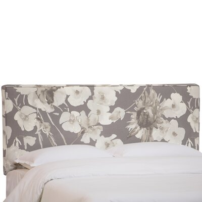 Zanuck Upholstered Panel Headboard Size: King