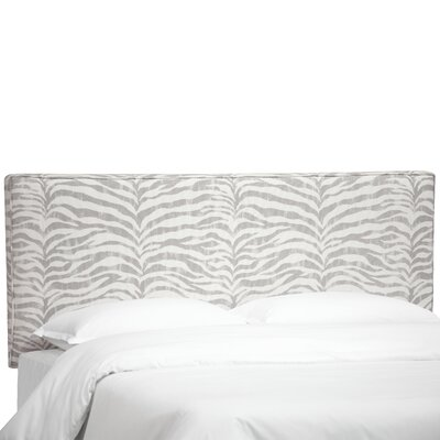 Deeanna Upholstered Panel Headboard Size: Queen