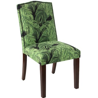 Dulce Parsons Chair Upholstery Color: Villa Cayman Concord