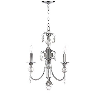 Manchester 3-Light Crystal Chandelier